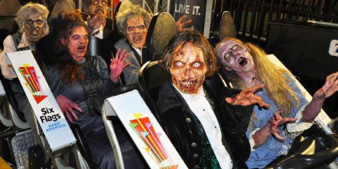 Halloween en Six Flags