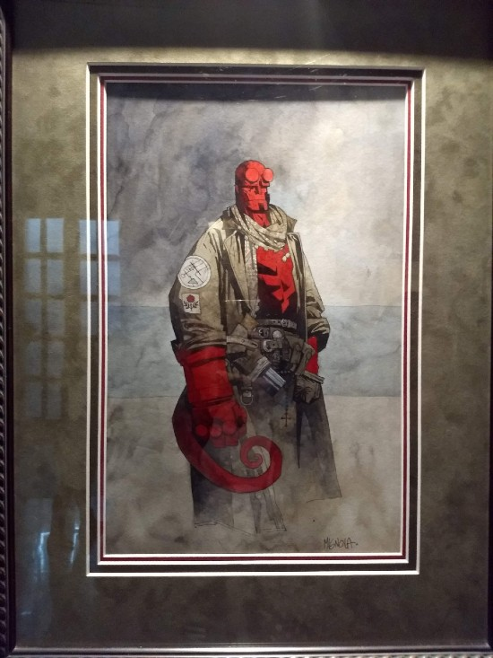Hellboy por Mike Mignola