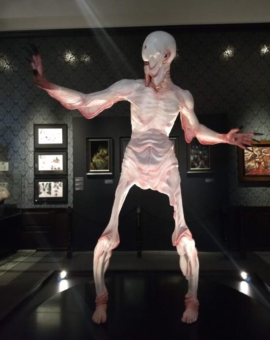 Hombre pálido de El Laberinto del Fauno
