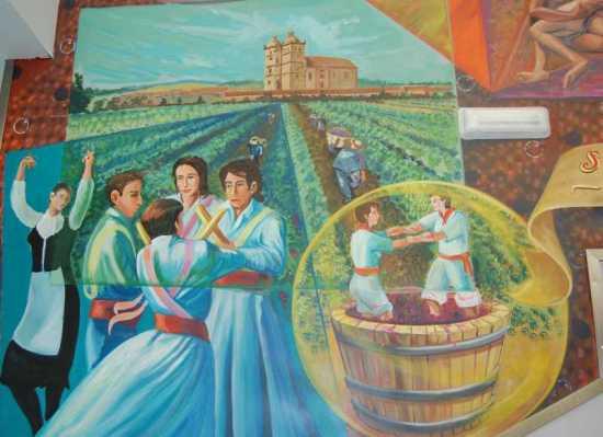 Mural en Cigales