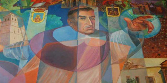 Pintura mural Fray Antonio