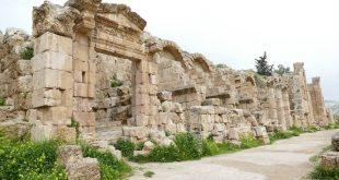 Ruinas de Gerasa en Jordania