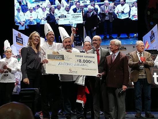 Antonio Arrabal ganador