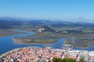 Vista aérea de Santoña