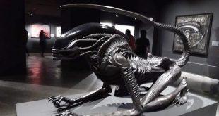 Alien exposición H.R. Giger