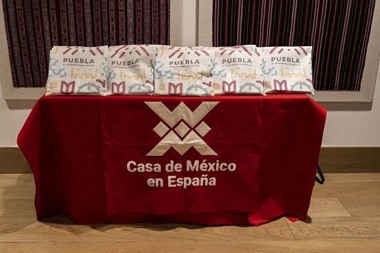 Puebla en la Casa México