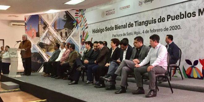 Hidalgo sede del Tianguis de Pueblos Mágicos en 2021 y 2023