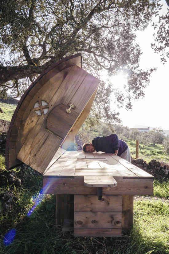 La cama de abejas