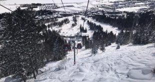 Nieve en Jackson Hole