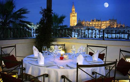 Sevilla romántica cena