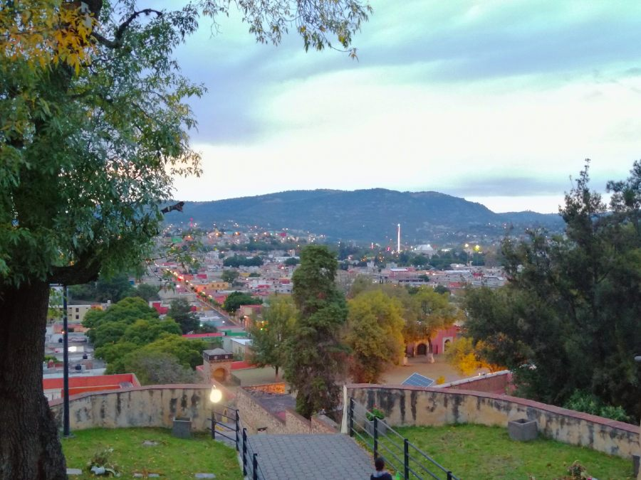 vista catedral de tlaxcala