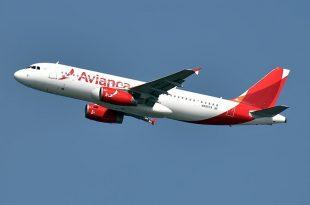 avianca avión