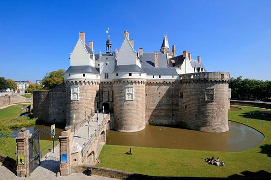 castillo duques bretaña
