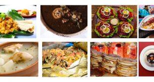8 platos Centroamérica
