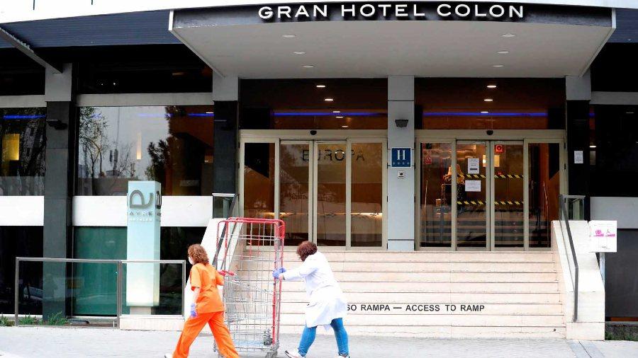 Gran hotel Colon de Madrid