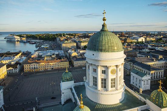 Helsinki, capital Finlandia