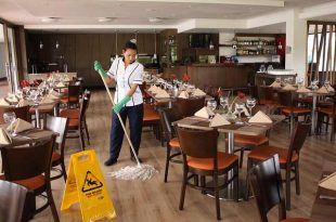 Limpieza de resraurante