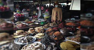 Mercado en Can Tho, Vietnam