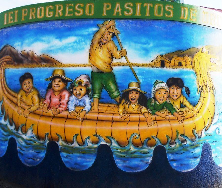 Mural en Puno, Perú