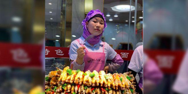 Sticks en Muslim Quarter, Xi´an, China