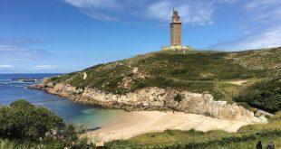 Torre de Hércules en A Coruña