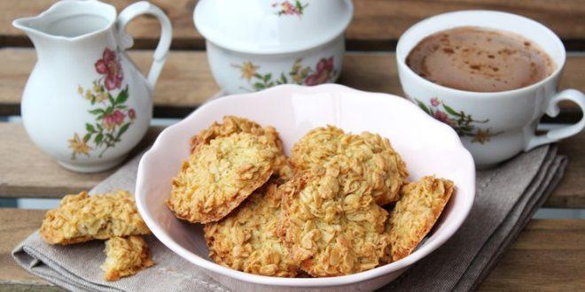 galletas de copos de avena
