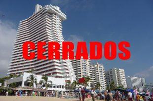 hoteles cerrados en México
