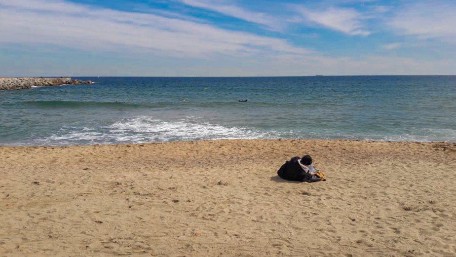 playa en Barcelona 2