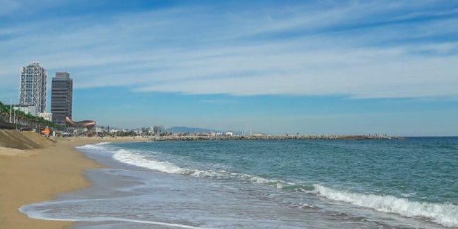 playa en Barcelona 3