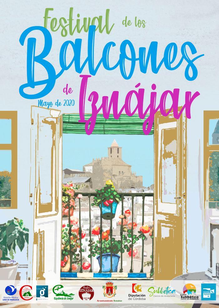 Cartel IX Festival de los Balcones de Iznájar 2020