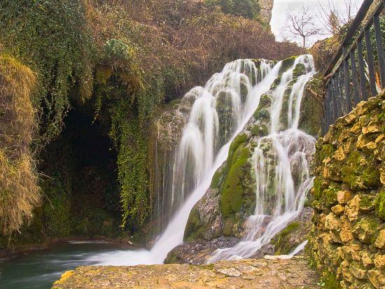 Cascada en Tobera