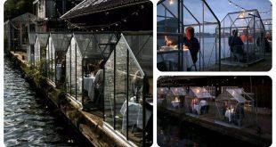Invernaderos de cristal para restaurantes