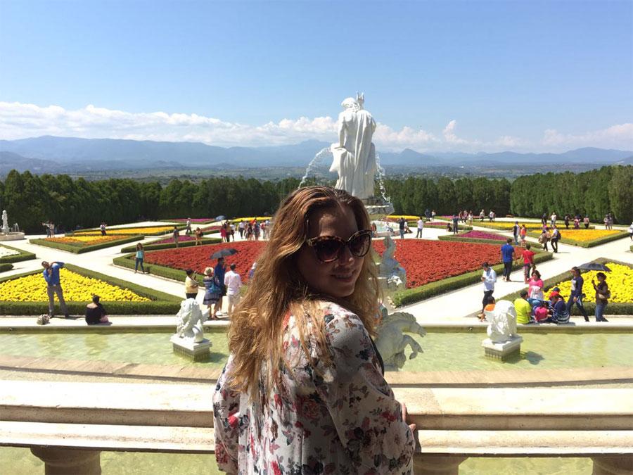 Jardines de México y Andrea Soberanis