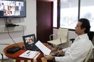 Pedro Joaquín Delbouis en conferencia virtual