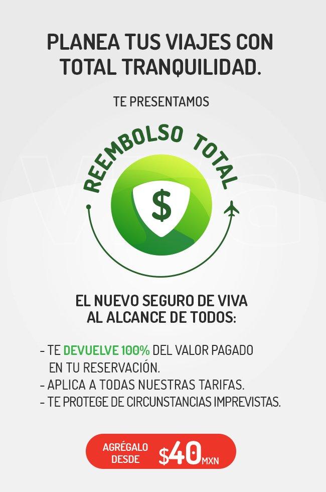Reembolso Total Viva Aerobus