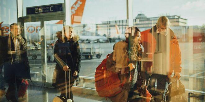 Viajeros aeropuerto