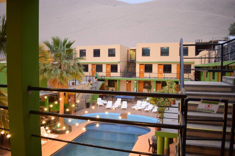 hotel en Laguna Huacachina
