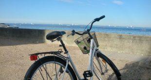 bicicleta en el Báltico