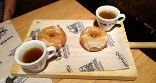 Donut cocido vasco