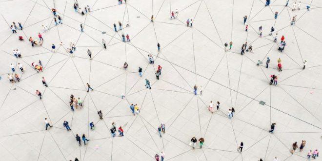 Big Data Personas interconectadas