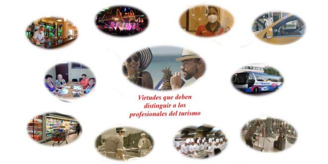 Virtudes de los profesionales del turismo