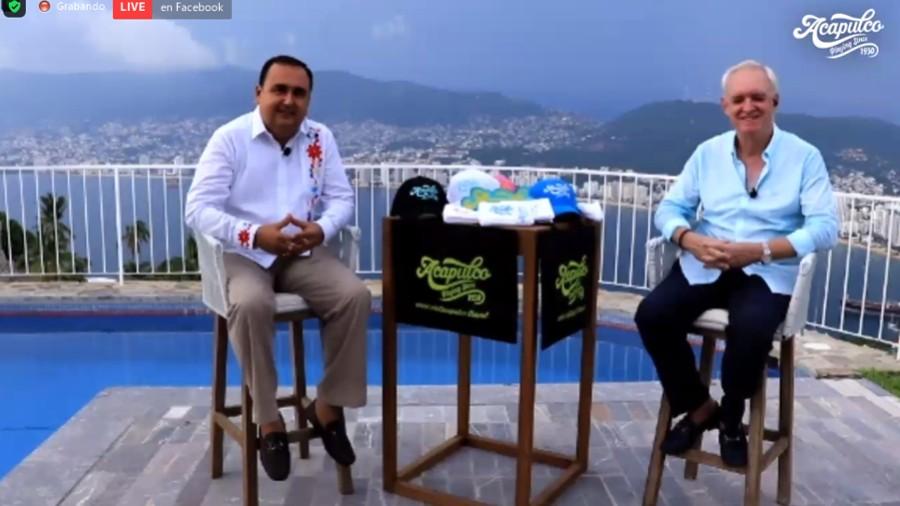 pedro y abraham Acapulco