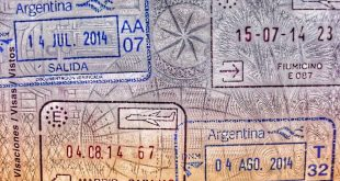 sellos de pasaporte Argentina