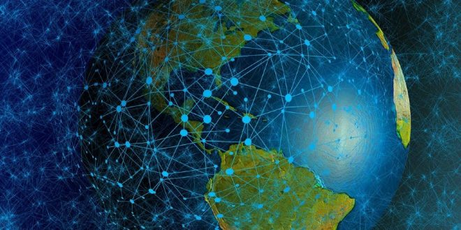 Mundo conectado tecnología