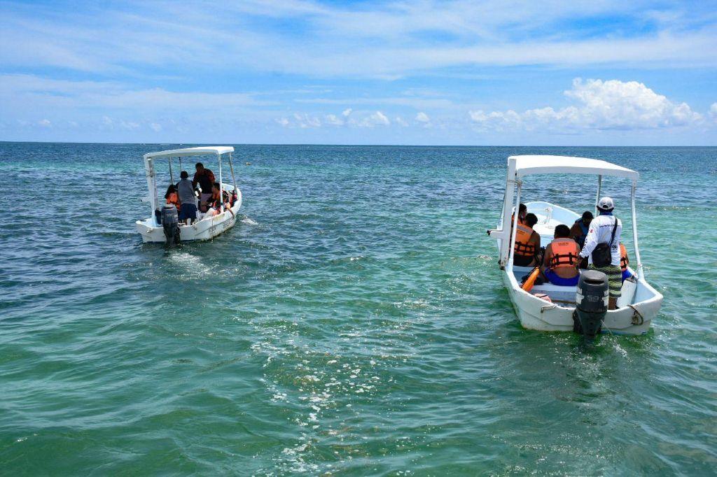 Playa en Puerto Morelos