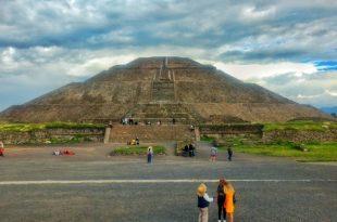 Teotihuacán pirámide del sol