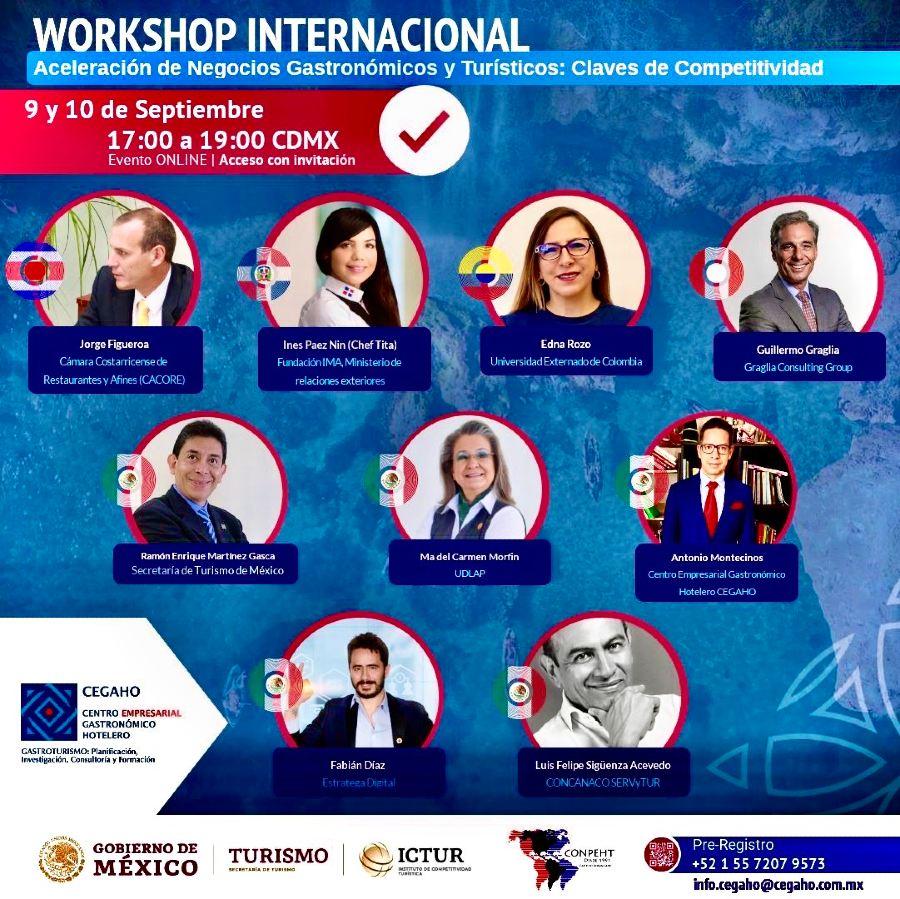 Workshop Internacional de Negocios Gastroturísticos Promocional General