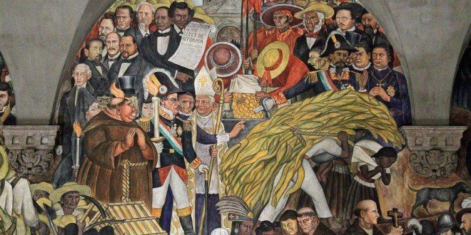 mural Epopeya del pueblo mexicano