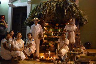Altar de muertos en Campeche