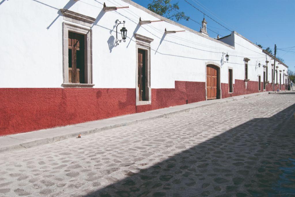 Calles de Cuitzeo